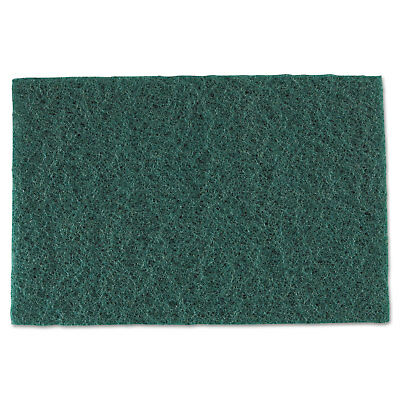 Royal Medium-Duty Scouring Pad 6 x 9 Green 60/Carton S960