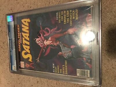 Marvel Preview #7 CGC 3.5 OW/W Pages - 1st App Rocket Racoon