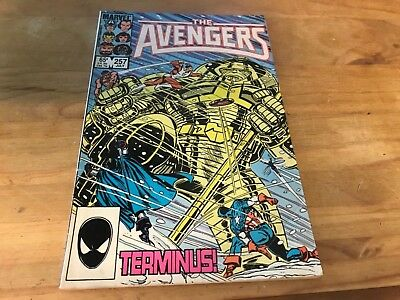 AVENGERS 257. 1985 1st APPEARANCE OF NEBULA GUARDIANS OF THE GALAXY INFINITY WAR