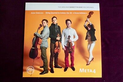 SIBELIUS + Streichquartett d-moll op.56 Voces Intimae + META 4 + Ltd. Edition NM