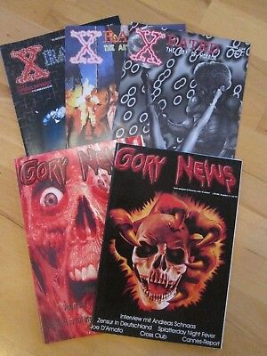 X-RATED und GORY NEWS