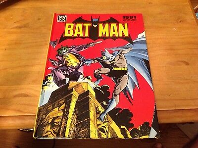 British Dc Comics Annual. Batman 1991. Robin, Joker. Detective 475 476 Deadshot.