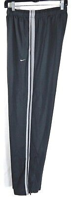 Nike Men's Athletic Pants Mens Size XL X Large Gray Ankle Zip Swoosh Running