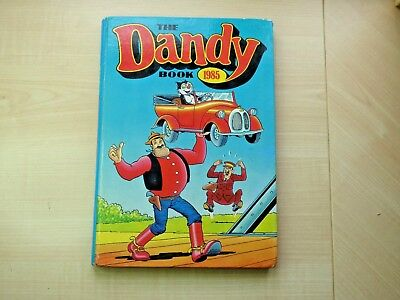 Vintage 1985 The Dandy Annual, not price clipped and in good condition