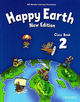 Oxford HAPPY EARTH Level 2 Class /Pupil's Book /Coursebook NEW EDITION @NEW@