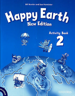 Oxford HAPPY EARTH 2 Activity Book /Workbook NEW EDITION with MultiROM @NEW@