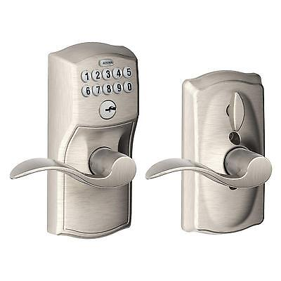NEW~Schlage~F40 V FLA 716~Bed And Bath~FLAIR LEVER~Aged Bronze