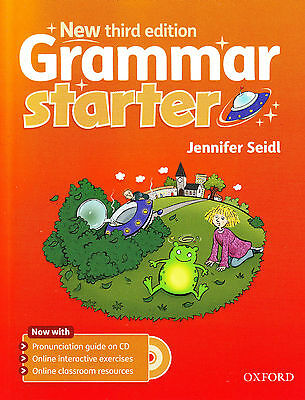 Oxford GRAMMAR STARTER Third Edition Student Book w Audio CD JENNIFER SEIDL New