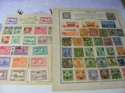 China range of mint & used from old collections Nr4