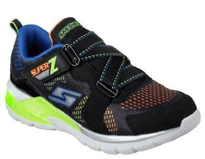 251ad761f4cb Boy s Youth SKECHERS S LIGHTS ERUPTERS II Black+Multi Sneakers Shoes 90552  NEW
