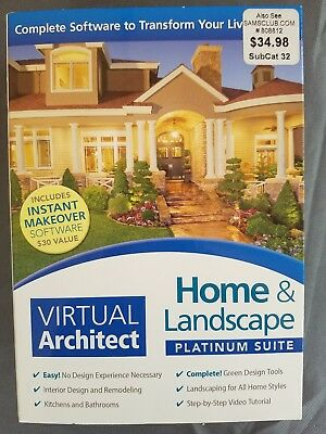 Virtual architect Home And Landscape Platinum Suite