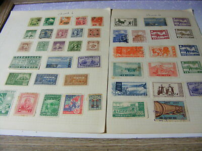 China range of mint & used from old collections Nr6