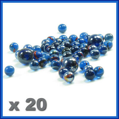 Glass marbles , 20 PCS, 16 mm, glass round  ball ,marble game,playing ,small SYD