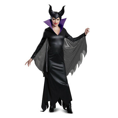 Womens Maleficent Deluxe Disney Halloween Costume