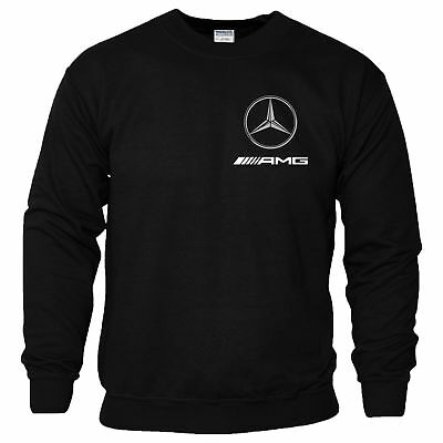 mercedes benz logo hoodie amg motorsport formula 1 f1 mens. Black Bedroom Furniture Sets. Home Design Ideas