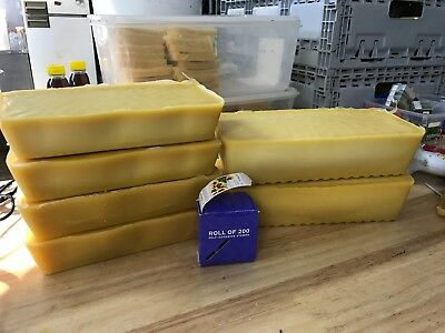 Pure Bees Wax Blocks 1kg to 2.8 kg Variations Beeswax Bee