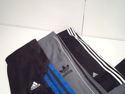 Lot of 3 Adidas Mens Sweatpants Size XL Warm Up Athletic Climacool Three Stripes