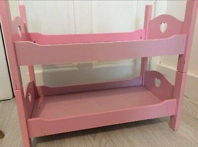 Pink Twin Bunk Beds For 18 Our Generation American Girl Dolls
