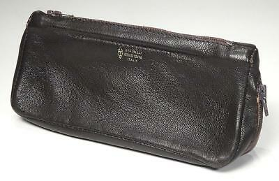 *New * SAVINELLI Tobacco Pouch & Pipe Carrier, Genuine Nappa, ITALY, MINT