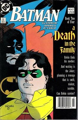 Batman 427 A Death in the Family part 2 Death of Robin