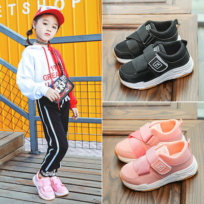 2019 Autumn Baby Casual Shoes Toddler Boys Girls Mesh Breathable Sports Shoes