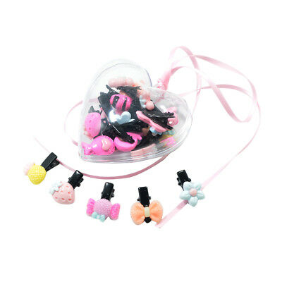 20 Pcs Mini Multi-Color Hair Grip Clips for Baby Girls Kid Hair Accessories