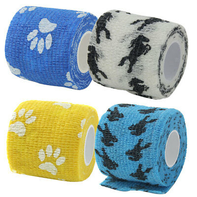 2inch Wide Self adhesive Self Adherent Cohesive Wrap Bandages Roll Tape 5 Yards