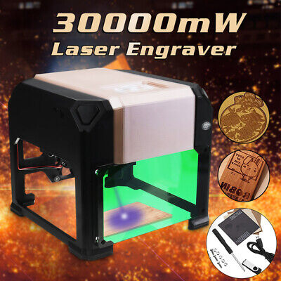 Real 2000mW USB Laser Engraver Printer Cutter Carver DIY Logo Maker Machine DIY
