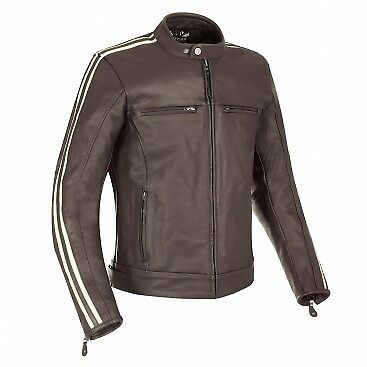 Oxford Bladon Leather Jacket Brown Mens Xxxl