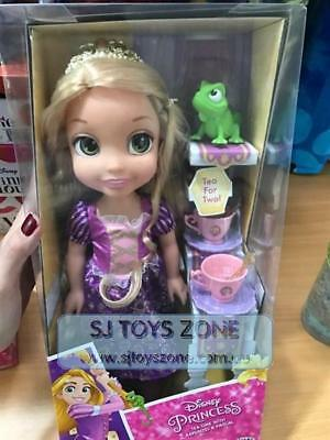 Disney Princess Tea Time With Rapunzel & Pascal Doll Pretend Play Toys For Kids