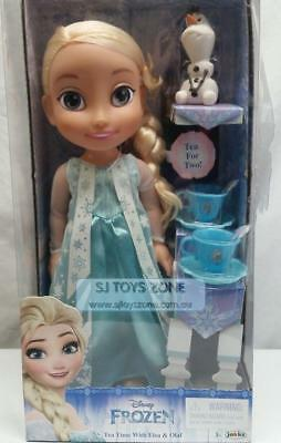 Disney Frozen Tea Time With Elsa&Olaf Doll Pretend Play Toys For Kids