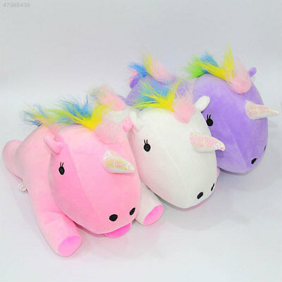 Rainbow Pony Horse Pillow Festival Nursery Comfortable Gifts Toy Cotton