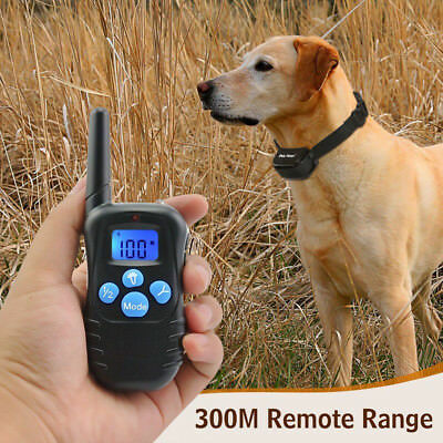 Safe Pet trainer 330 Yard Electric Remote Dog Training Rechargeable Shock Collar