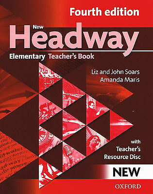 Oxford NEW HEADWAY Elementary FOURTH 4th EDITION Teacher's Book with CD @NEW@