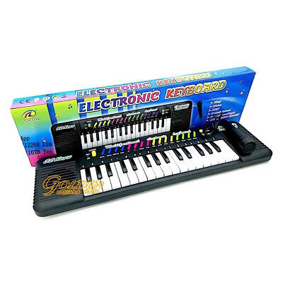 Kids Electronic Keyboard Musical Instrument Gift Toy Battery Operated 32 Keys