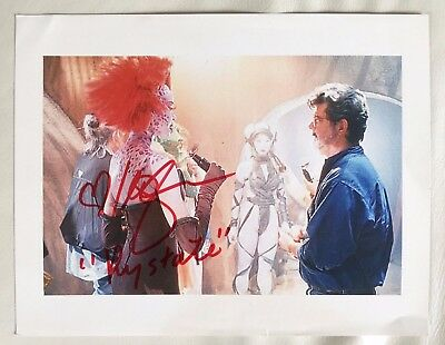 Mercedes Ngoh Georges Lucas Signed 8 X10 Photo Rystall Star Wars