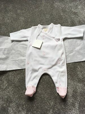 emile et rose baby girl Sleepsuit 1 Month