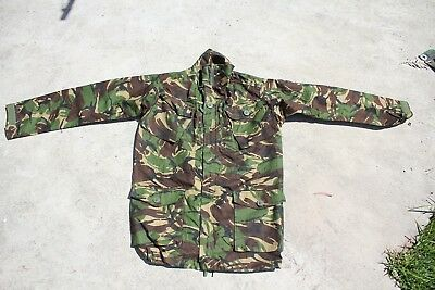 AUTHENTIC British Army DPM CAMO JACKET/SMOCK RIPSTOP Ireland/Kosovo/Iraq