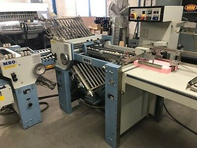 Mbo T49 Paper Folder With Right Angle