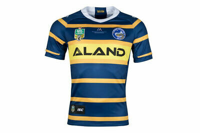 Parramatta Eels NRL 2018 ISC Home Jersey Adults Sizes S-7XL!