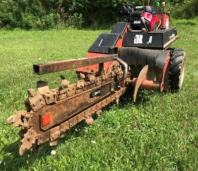 "Ditch Witch 1820 Trencher 48"" 4', brand new Honda 21HP engine; Works like new"
