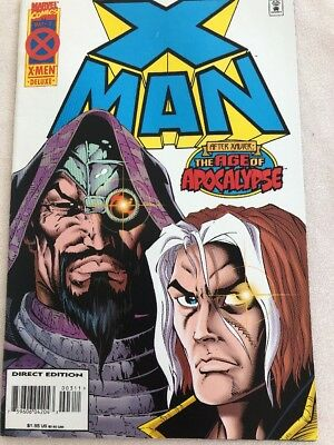 X-Man (1995) #3 VF/NM 9.0 Marvel Comics Age of Apocalypse X-Men