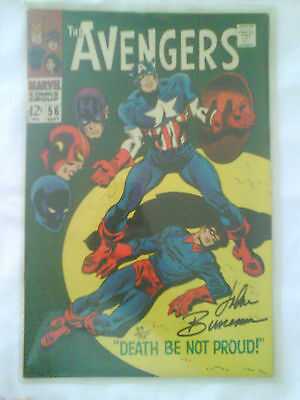 """The Avengers"" Collectors Comic book  ""Death Be Not Proud"" #56 SEPT"