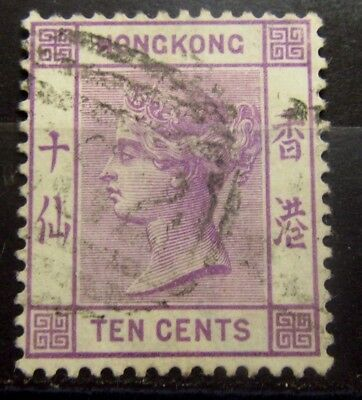 HONG KONG British Colonies Old Stamps - Used - CC Wmk - VF -  r61e5764