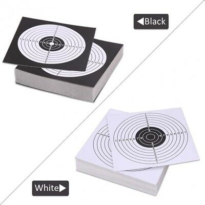 100X Archery Target Training Paper Arrow Bow Shooting Hunting Paper D