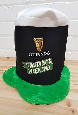 1x Guinness St Patrick's day hat new