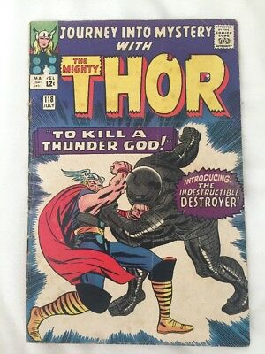 Journey Into Mystery #118. 1965. Thor, First Appearance Of The Destroyer