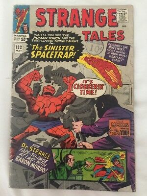 Strange Tales #132. Marvel Comics 1965. Thing And Torch, Dr Strange