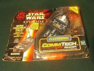 ***NIP*** Star Wars Episode 1 Electronic CommTech Reader ****Free Shipping!****