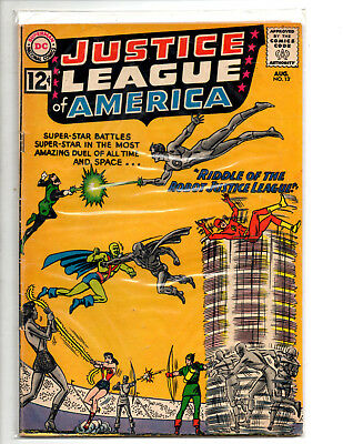 Justice league of America  #13Fine 6.0